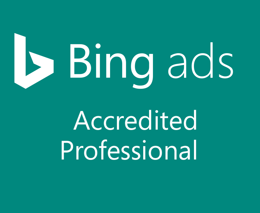 Bing Ads Accredited Proffesional