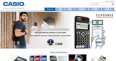 Casio Calculators India